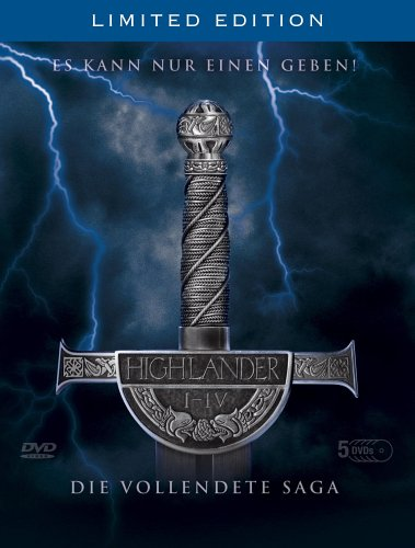 Highlander 1-4 - Die vollendete Saga (Limited Edition)
