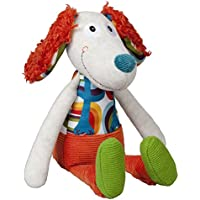 Peluche - Peace & Love, la Happy farm : Antoine le chien