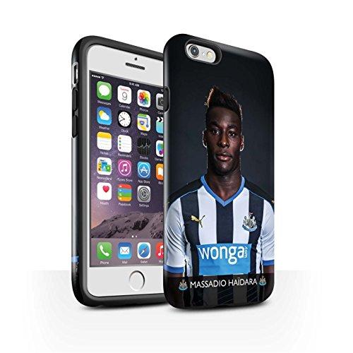Offiziell Newcastle United FC Hülle / Glanz Harten Stoßfest Case für Apple iPhone 6 / Pack 25pcs Muster / NUFC Fussballspieler 15/16 Kollektion Haïdara