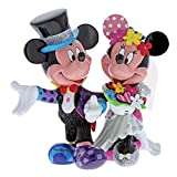 Disney Britto Mickey and Minnie Mouse Wedding Figur