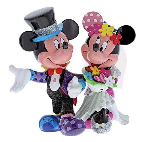 Border Fine Arts Studio Bronze Disney Britto Mickey and Minnie Mouse Wedding Figur (Bronze Figur Paar)