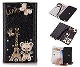 ZeWoo PU Leder Brieftasche - XT007 / (4#) Love Eiffelturm +