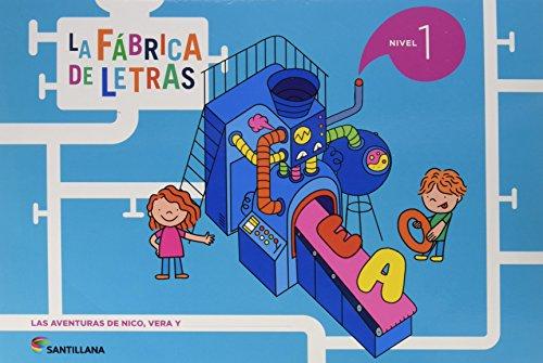 LA FABRICA DE LAS LETRAS NIVEL 1 - 9788468033808