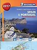 Spain & Portugal 2017 - A4 'Spiral Bound (Michelin Tourist and Motoring Atlases)