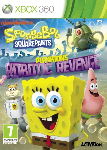 NEW & SEALED! SpongeBob SquarePants Plankton's Robotic Revenge XBox 360 Game (Spongebob Spiele Für 360 Xbox)