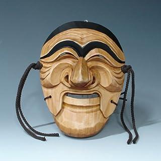 Holzschnitzereien Maske Koreanisch Wand Dekor Holz