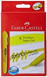 #5: Faber-Castell Gel Textliner - Pack of 6 (Yellow)