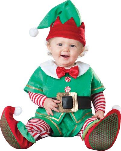 Weihnachtself- Santa's Lil' Elf- Kostüm Baby Gr. M /12-18monate / - Weihnachtself Baby Kostüm