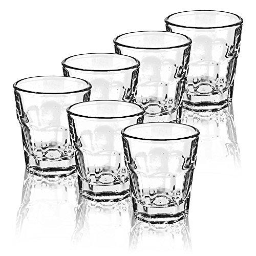 URBN LIVING ® Schnapsgläser Set, 6 Glasses