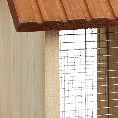 Relaxdays Vogelfutterhaus aus Holz - 4