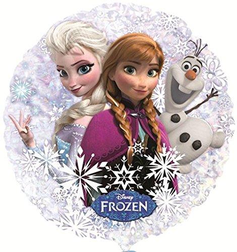 "2 X Frozen Holographic elio Foil Palloncino 22 ""/ 55 centimetri (2 pack) [Toy]"