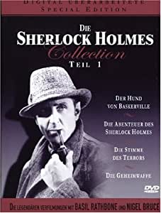 Sherlock Holmes Collection - Teil 1 (4 DVDs) [Special Edition]