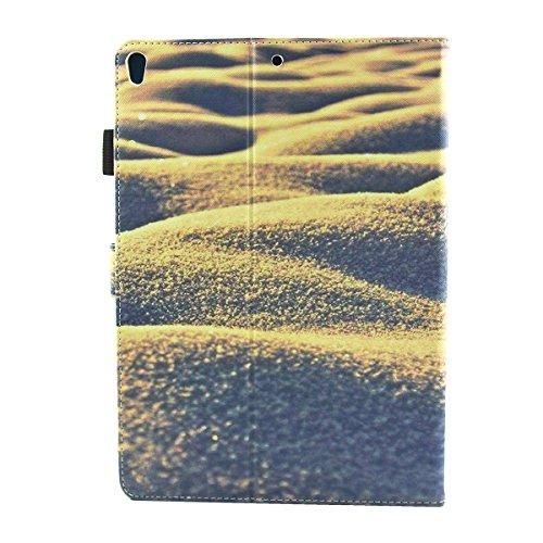 iPad IPad pro 10.5 Custodia per IPAD iPad pro 10.5 inch, inShang Smart Cover case in pelle PU, supporto per tenere L'iPad sollevato, magnetico per sleep e standby Sand