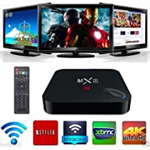 Buibao MX3 MXIII S812 QUAD CORE 2G 8G 2. 0GHz SMART TV BOX ANDROID 4K 3D UHD WIFI BT4. 0