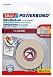 tesa UK Powerbond Double Sided Adhesive Tape for Indoor Use, 1.5 m x 19 mm