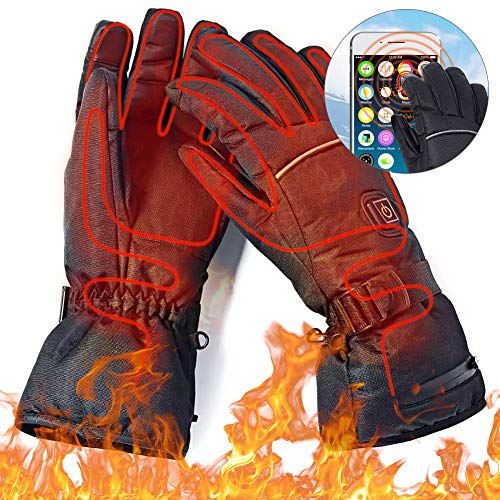 IrishTech Beheizte Handschuh,Elektrische Heizung Handschuhe, Mann Frau elektrische Thermo GlovesWinterhandschuhe mitFreien Kletternwarme Handschuhe skihandschuhedamen warmherren Winter wasserdicht