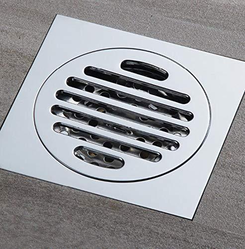 Rmbearmoni Floor Drain Loor Drain Cover Colander Shower Waste Drainer Full Brass Bathroom Kitchen Colander Floor Drains -
