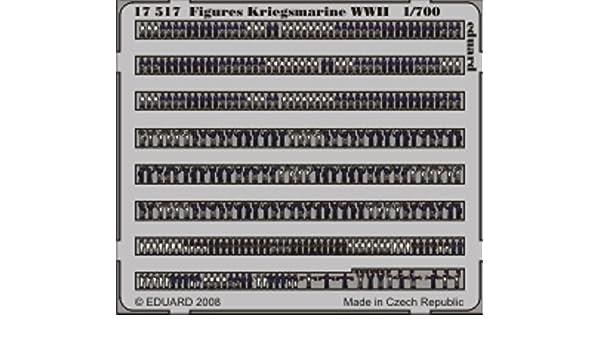Eduard Accessories 17505 IJN Figuren bemalt Fotoätzsatz in 1:700