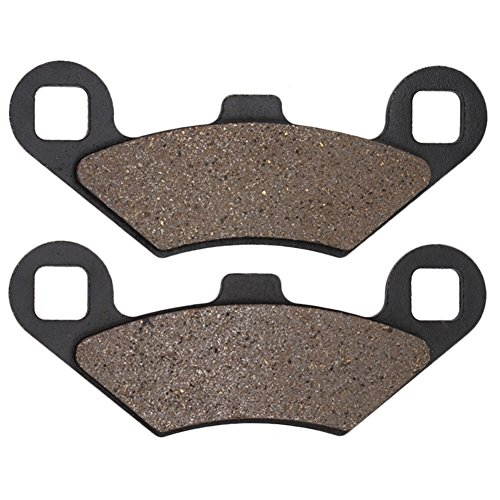 Cyleto Bremsbeläge vorne & hinten für POLARIS 330 Trail Blazer TrailBlazer 330 2008 2009 2010 2011 2012 (Trailblazer Polaris 330)