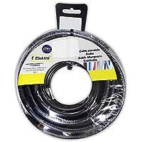 EDM Carrete acril. Negro 4x1,5 15m