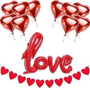 Sunarrive Decoracion San Valentin| Adornos
