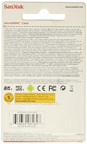 SanDisk microSDHC 32GB Speicherkarte - 2