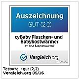 cyBaby Flaschen- und Babykostwärmer mit Saftpresse - 4