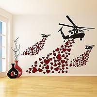 (80x63 cm) Banksy Vinile Da parete, Decalcomania