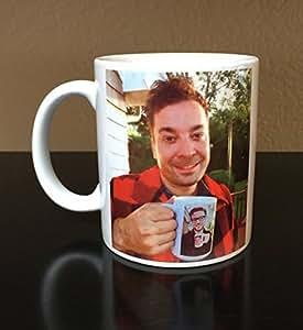 Jimmy Fallon, Jimmy Fallon Mug, Jimmy Fallon Ew, Coffee Mug by MM-1