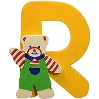 Bino 84018 Sticker Orso, Lettera R, Colori