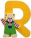 Mertens  Bino 84018 Sticker - Etiqueta engomada de madera letra R, Modelos Surtidos
