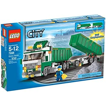 Lego city 7998 camion semirimorchio ribaltabile amazon - Lego city police camion ...
