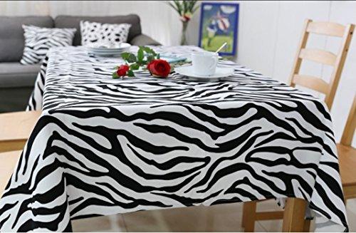 King 's Store; der Zebra Print Tischdecke ist über 60 x 70 Mehrfarbig