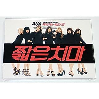 FNC Entertainment Aoa - Miniskirt (5Th Single Album) Cd + Photo Booklet + Photocard (Angel Card) + Extra Gift Photocards Set
