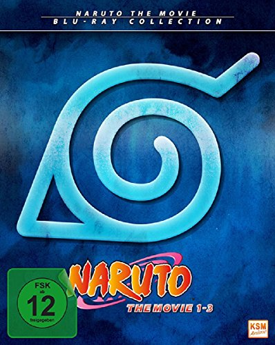 Naruto - The Movie Collection - Movie 1-3 [Blu-ray]