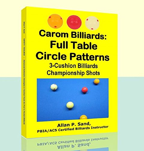 Carom Billiards: Full Table Circle Patterns: 3-Cushion Billiards Championship Shots (English Edition) por Allan Sand