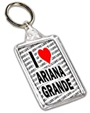 Porte-clés I Love Ariana Grande - Cadeau - Anniversaire - Noël - Remplissage de chaussette