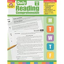 Daily Reading Comprenesion, Grade 4 (Daily Reading Comprehension)