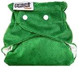 Piriuki, panal de tela, reutilizables, talla unica, Verde (Long Lake (dunkelgrün))
