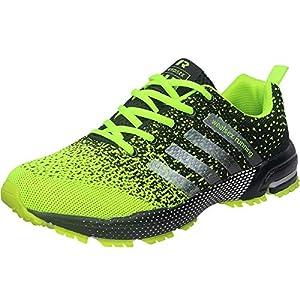 deportes: Wealsex Zapatos Para Correr En Montaña Asfalto Aire Libre Deportes Zapatillas De...