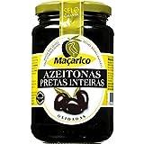 MaçaricoLas aceitunas negras Whole botella 350 g