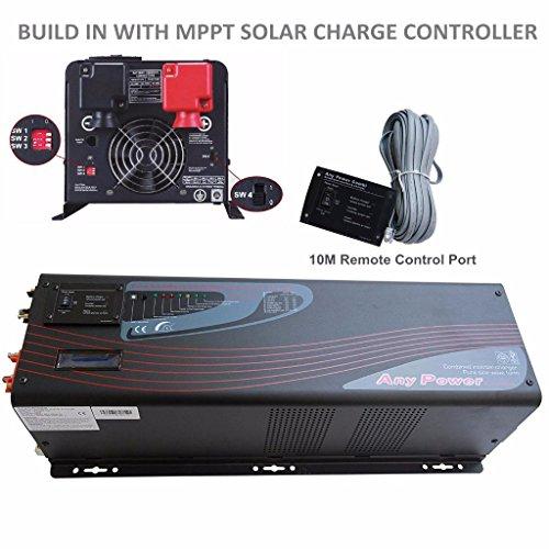 1000W di picco 3000W inverter charger a bassa frequenza convertitore onda sinusoidale pura Mabelstar PV Series Solar inverter DC 24V AC 230V integrata con MPPT 60amp regolatore di carica solare LCD Display