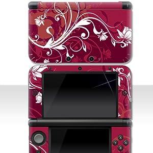 """Nintendo NEW 3DS XL Skin """" ROSE """" Aufkleber Sticker Folie Schutzfolie"""