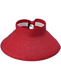 Samber Sombreros Verano para Sol Sombreros con Viseras Grandes Plegables  para Pescador y Bicicleta Sombreros de 1665783044a