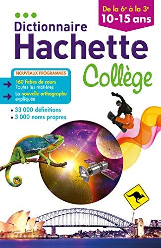 Dictionnaire Hachette Collge