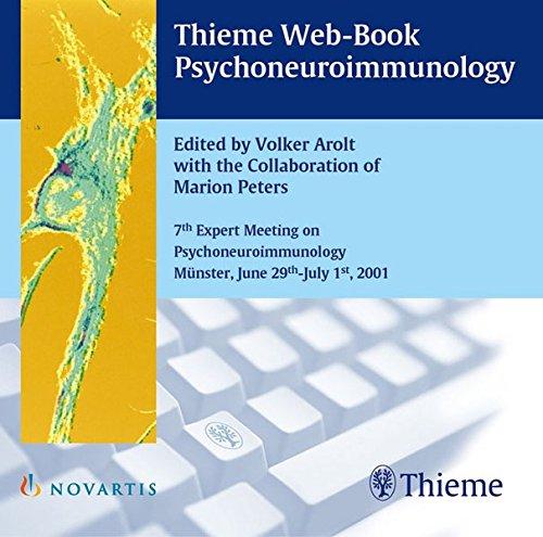 Psychoneuroimmunology, 1 CD-ROM 7th Expert Meeting on Psychoneuroimmunology Münster, June 29th-July 1st, 2001