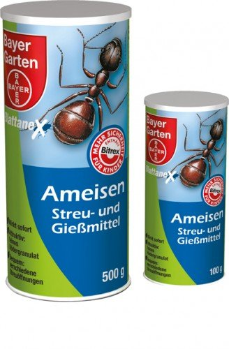 Feuilles Anex de fourmi Litière et gieß moyen, 500 g
