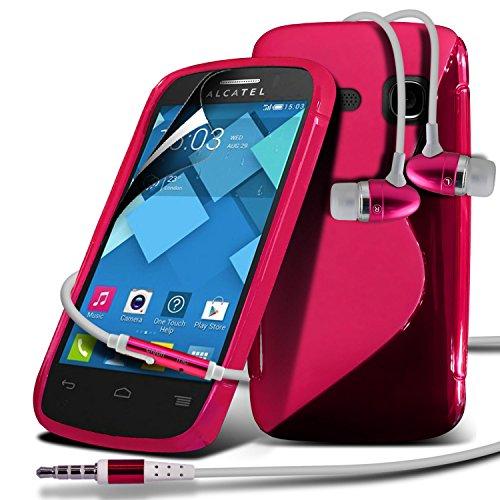 Spyrox Elégant haut de gamme BookStyle PU Portefeuille en cuir flip Avec 3 Crédit couverture de peau Slot Case / carte de débit Avec écran LCD Protecteur & Chiffon Pour Apple Iphone 6 4.7 inch Hot rose + écouteurs