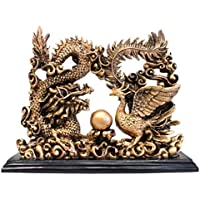 Dragon und Phoenix aus Resine Doree 23cm preisvergleich bei billige-tabletten.eu