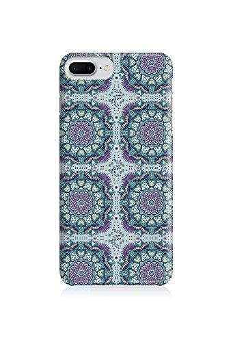 COVER AZTEC Gipsy Hippie Muster Mandala Indien grau mint Handy Hülle Case 3D-Druck Top-Qualität kratzfest Apple iPhone 7